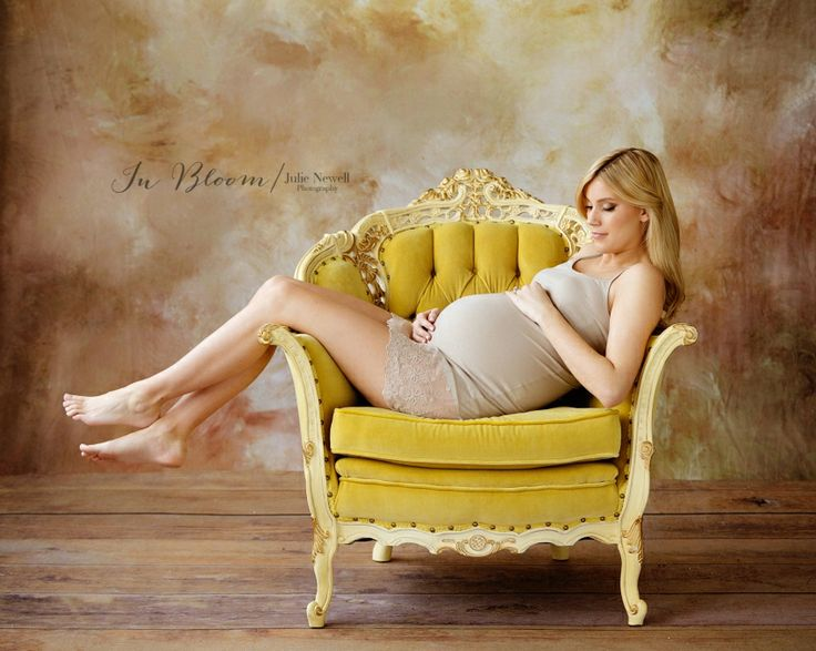 Chicago maternity Photography Chicago Maternity Photographer In Bloom by Julie Newell Photography Vintage Yellow Chair maternity session Belly Session