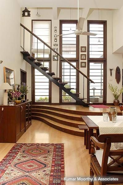 Sheer House   Staircase Designs By Kumar Moorthy U0026 Associates