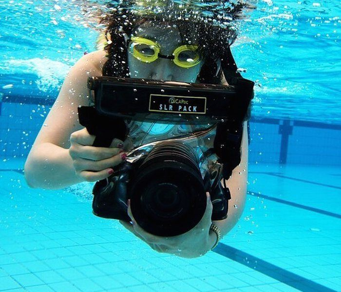 One case made to keep your camera safe at the beach or pool. Whether you're swimming, kayaking, skiing, fishing, sailing, snorkeling or diving, the WPS10 Waterproof Camera Case by DiCAPac is going to ensure your camera stays safe and secure all the time.