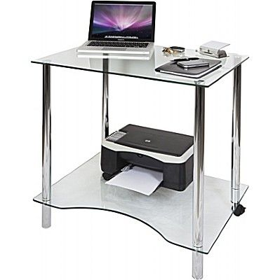 Crystal Glass Desk I Office Desk Ideas
