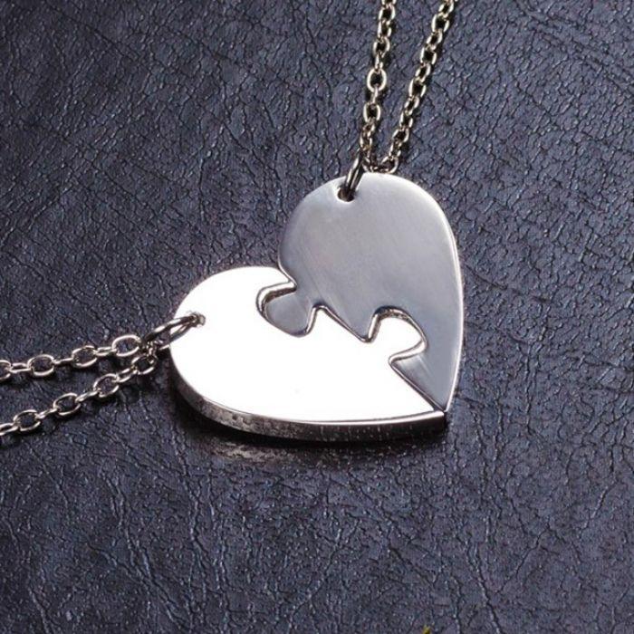 Кулон сердце - Для двоих