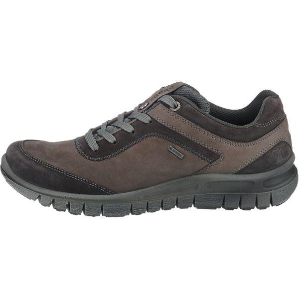 Sportliche Legero Freizeit Schuhe aus robustem Echtleder. Die GORE-TEX Klimamembran macht die Schuhe wind- und wasserdicht, sowie atmungsaktiv.<br /> <br /> - gepolsterter Schaftrand<br /> - Verschluss: Schnürung<br /> - Wechselfußbett<br /> - griffige Laufsohle<br /> <br /> Obermaterial: Leder<br /> Futter: Sonstiges Material (Synthetik)<br /> Decksohle: Sonstiges Material (Synthetik)<br &#x...