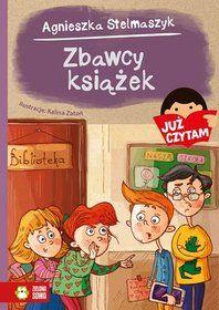 Już czytam! Zbawcy książek-Stelmaszyk Agnieszka