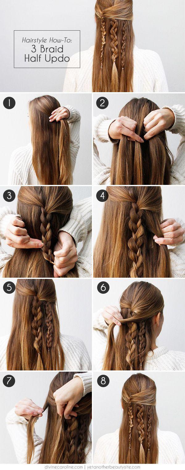 DIY tuto coiffure