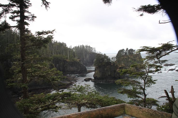 Cape Flattery, WA....hiking out to the lighthouse viewpoint
