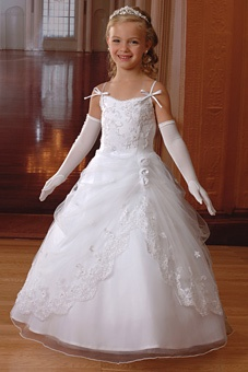 Flower Girl.Brides Magazine: Cupids by Mary's Bridal : Style No. FGHE : Flower Girl Dresses Gallery
