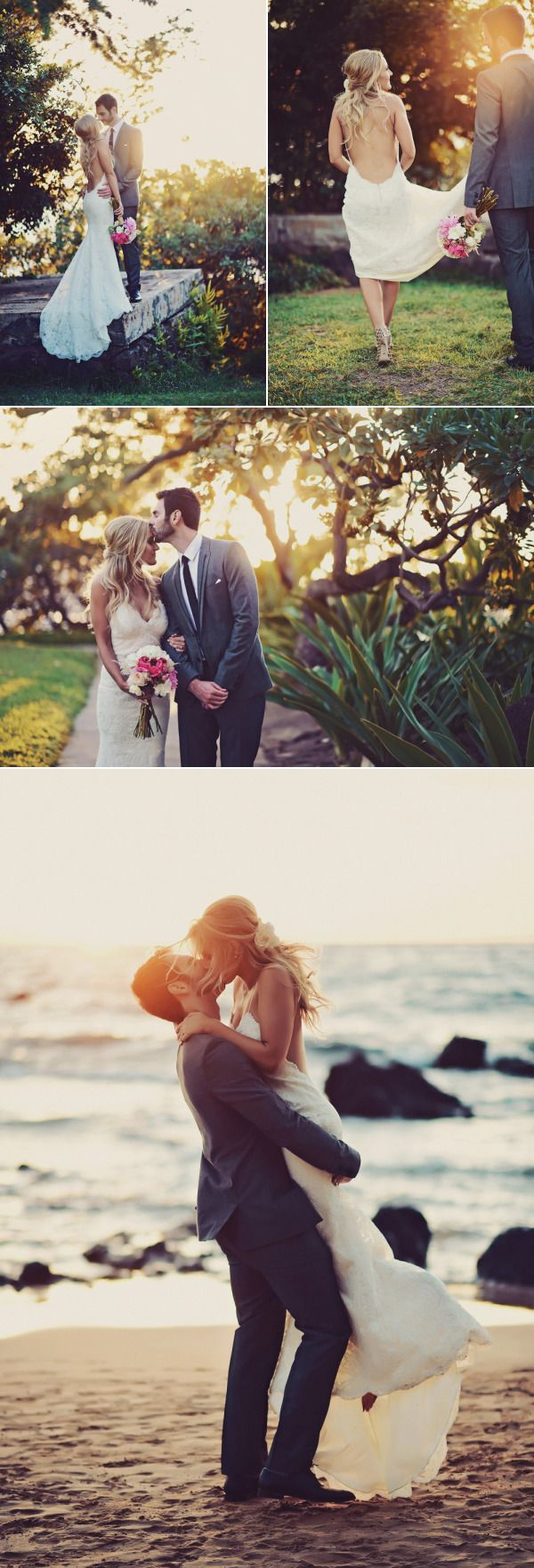 Glam Destination Hawaii Wedding at Andaz Maui At Wailea - Style Me Pretty