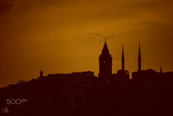 GALATA+SUNSET+-+galata+tower