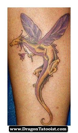 Cute Dragon Tattoos for Women | Cute Dragon Tattoos for Women
