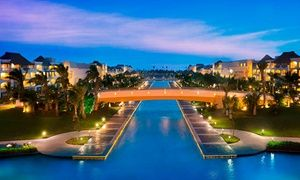 Groupon - 3-, 5- or 7-Night Rock VIP Stay for 2 & Up to $ 3800 Limitless Resort Credit at Hard Rock Hotel and Casino Punta Cana    in Punta Cana, Dominican Republic. Groupon deal price: $1,662
