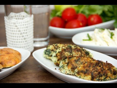 Ispanaklı patates köftesi ~ Kartoffel-Spinat-Laibchen ~ Rezept, Video