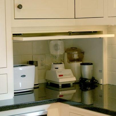 Hidden Kitchen Appliances Design Ideas,