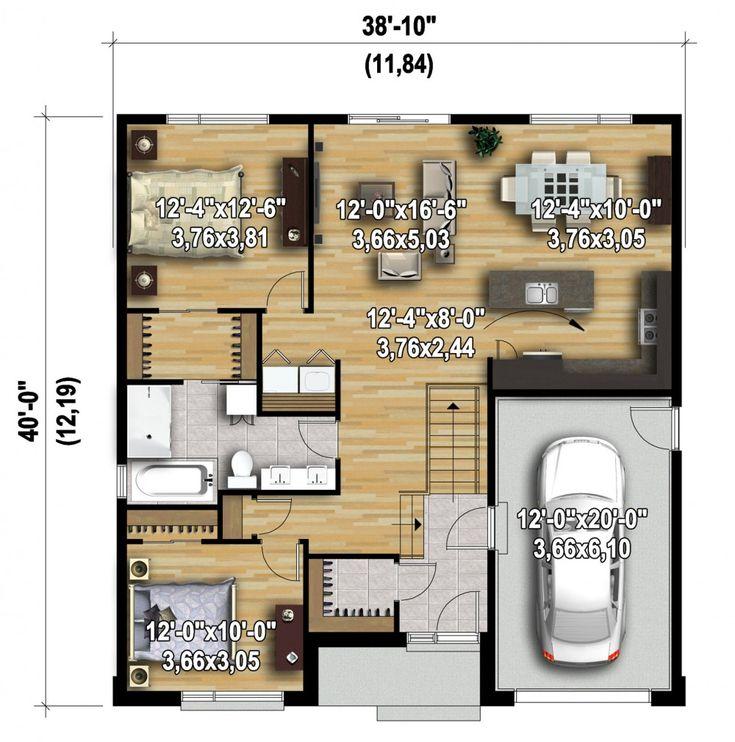 Plan image used when printing Plan N° 11684