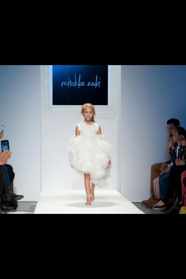 44 Best Images About Children Walking The Vogue Runway On