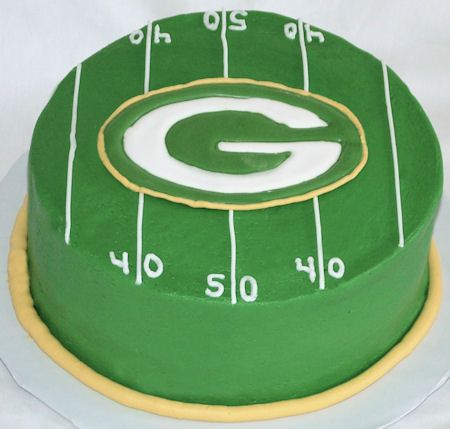 Packer Cake someone make me this!!