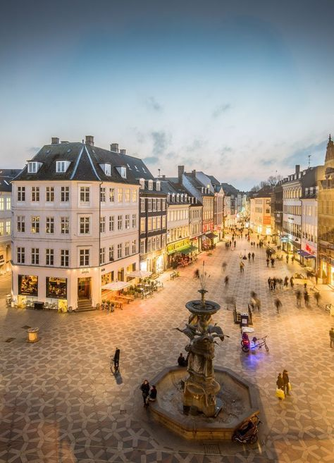Strøget, Copenhagen, Denmark. For the best of culture, food, art and travel.