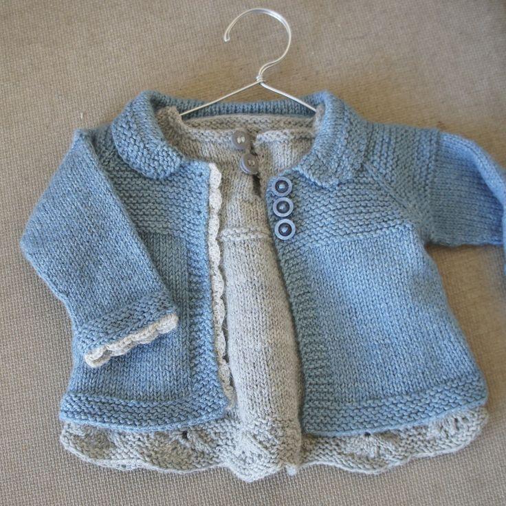 Ravelry: Charlee Baby Girl Jacket/Coat by Lotta Arnlund