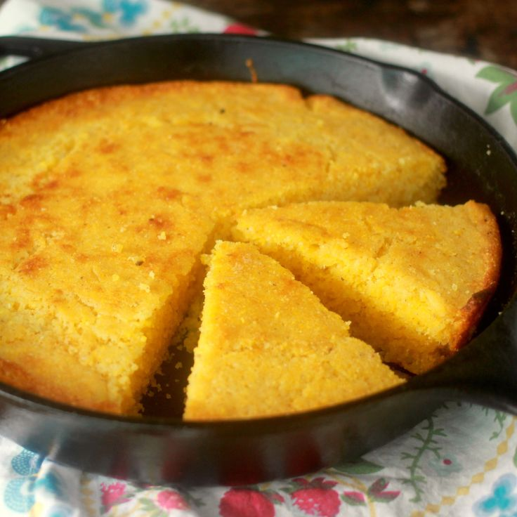 This easy and moist cornbread recipe is a true southern treat made with tangy buttermilk and cooked in a cast iron skillet to achieve that iconic crispy...