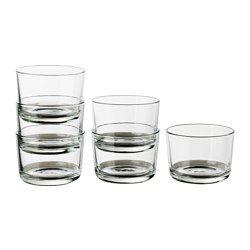 IKEA - IKEA 365+, Copo, Também pode usar-se para bebidas quentes.Feito em vidro temperado, o que torna o copo duradouro e extra resistente aos impactos.O copo tem um formato largo, o que também permite que seja usado para servir deliciosas sobremesas.Empilhável; permite poupar espaço no armário.