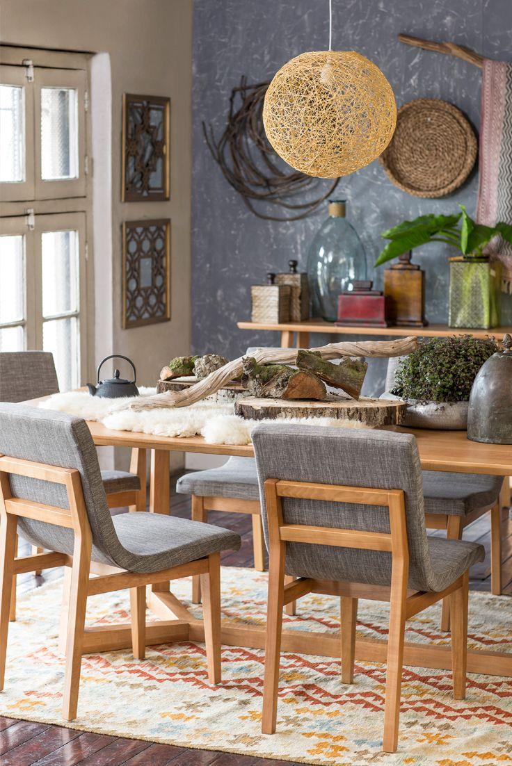 Encuentra todos esos #detalles que hacen de tu #casa un lugar más tú en el nuevo #DecoBazar #Homy. #Decoración #Comedor #Adornos #Lámpara #Boho #Étnico #Botánica