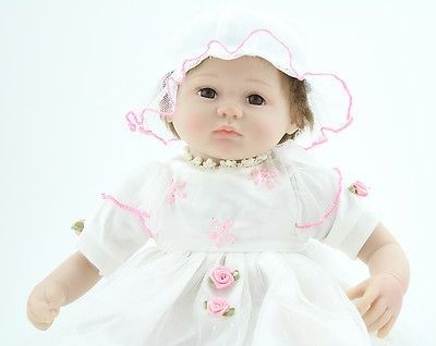 cool Reborn Baby Dolls Soft Vinyl Newborn Realistic Real Looking Girl Baby Doll - For Sale Check more at http://shipperscentral.com/wp/product/reborn-baby-dolls-soft-vinyl-newborn-realistic-real-looking-girl-baby-doll-for-sale/