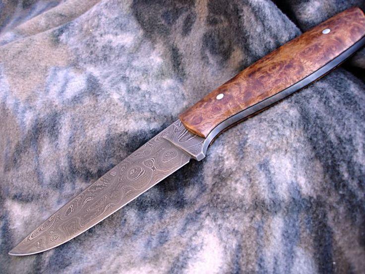 Jagdmesser aus Leo IV Damast