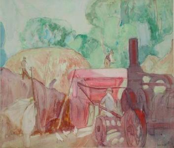"frances Hodgkins ""the threshing machine"" - Google Search"