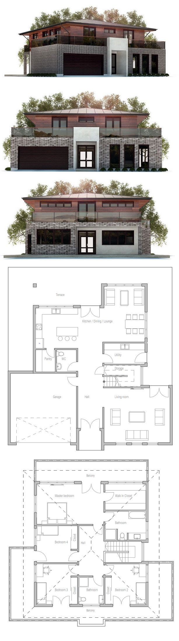 Planos de casita