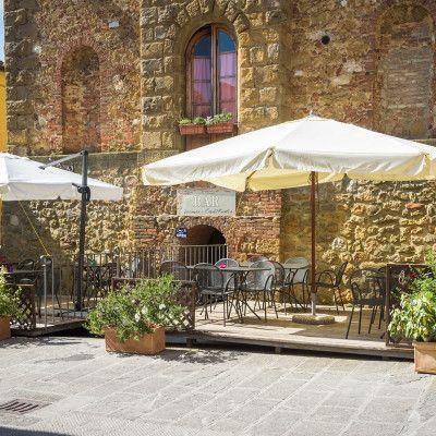 Restaurant La Locanda Di Casalmustia à Castelmuzio