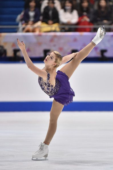 Gracie Gold of the USA competes in the Ladies Free Program during day two of ISU Grand Prix of Figure Skating 2014/2015 NHK Trophy at the Namihaya Dome on November 29, 2014 in Osaka, Japan.