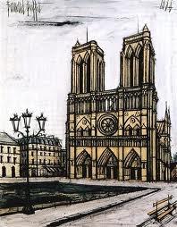 bernard buffet tableaux - Notre-Dame
