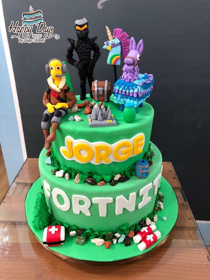 fortnite cake  fortnitecake  fondantcake  fortnitegame