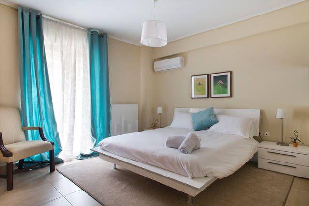 The Roomy Master Bedroom #shortstay #holiday #Greece
