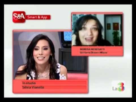 Morena Menegatti a Smart, su La 3 TV, per parlare di Netiquette.