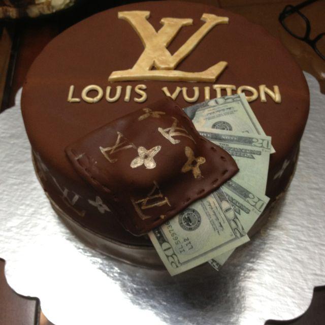 Cake Louis Vuitton Pinterest : Louis Vuitton Cake Cakes big and Small Pinterest