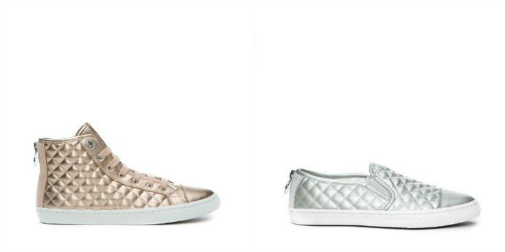 Geox presenta l'anteprima della collezione scarpe primavera-estate 2015. Calzature dai colori brillanti e matelassé si alternano a modelli classici. http://www.stilemagazine.it/scarpe-geox-anteprima-collezione-primavera-estate-2015/