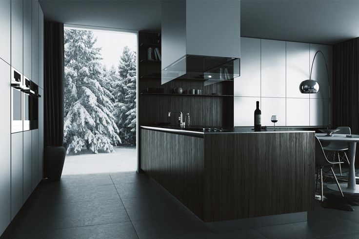 Concept of a kitchen inspired by Poliform.  Toys: 3DS Max, V-Ray, Photoshop