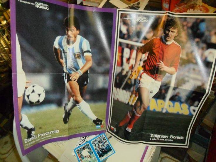 Poster calcio GUERRIN SPORTIVO anni 70