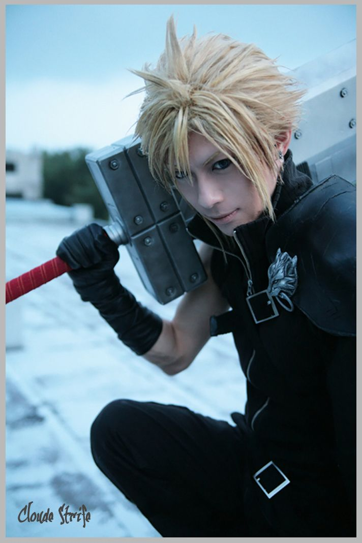 Final-Fantasy-Cloud-Strife-Cosplay-6-by-Kaname