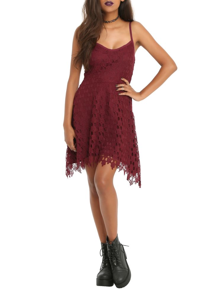 Not just any old crochet dress.