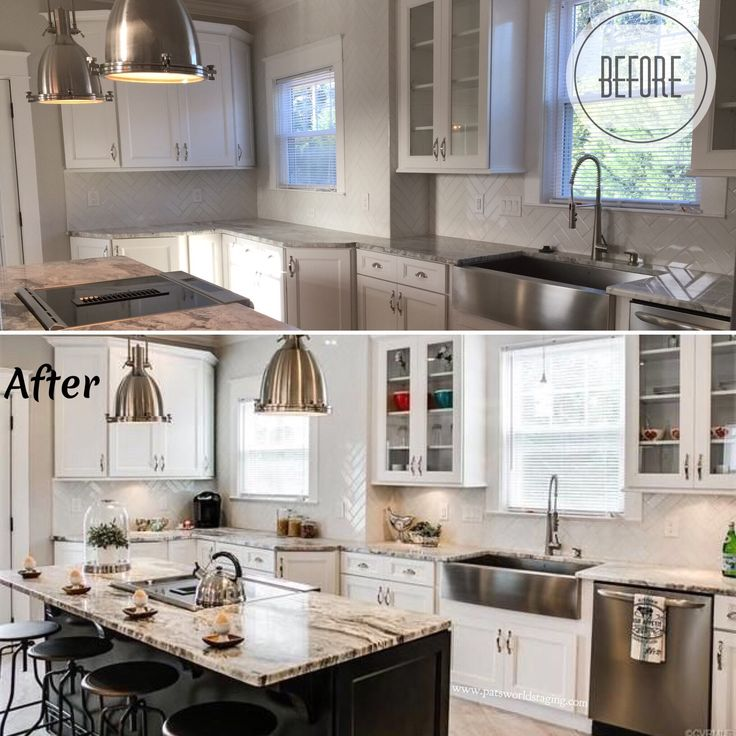 Kitchen Staging Before And After: 57 Best Home Staging To Sale Images On Pinterest