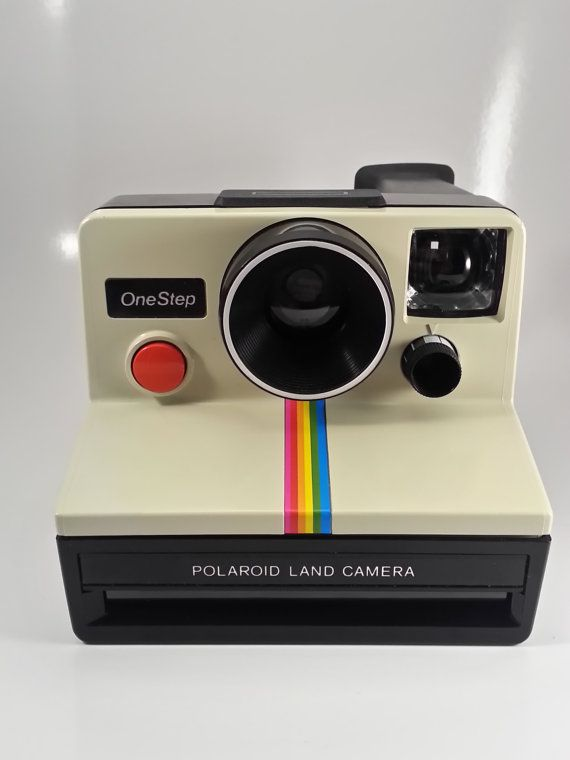 A blast from the past! Vintage 1980s Polaroid SX70 One Step With Classic by AtomicVault, $75.00