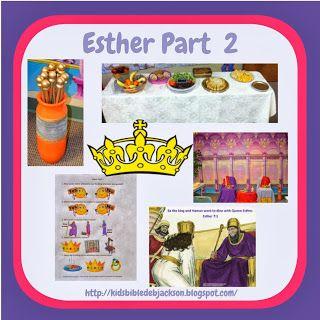 Bible Fun For Kids: Esther Part 2