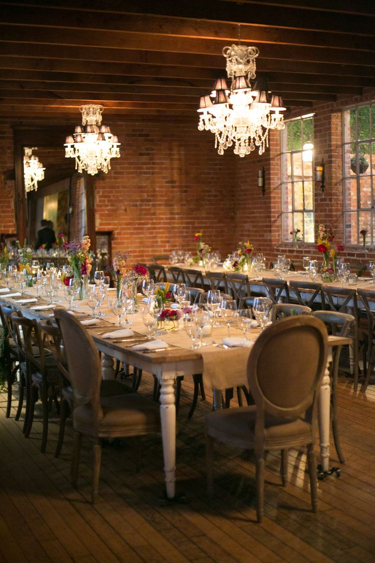 wedding reception venues woodstock ga%0A A      Italianate manse with exposed brick  paned windows  tufted couches   sundappled courtyards and arched doorways  Carondelet House provides the  ideal