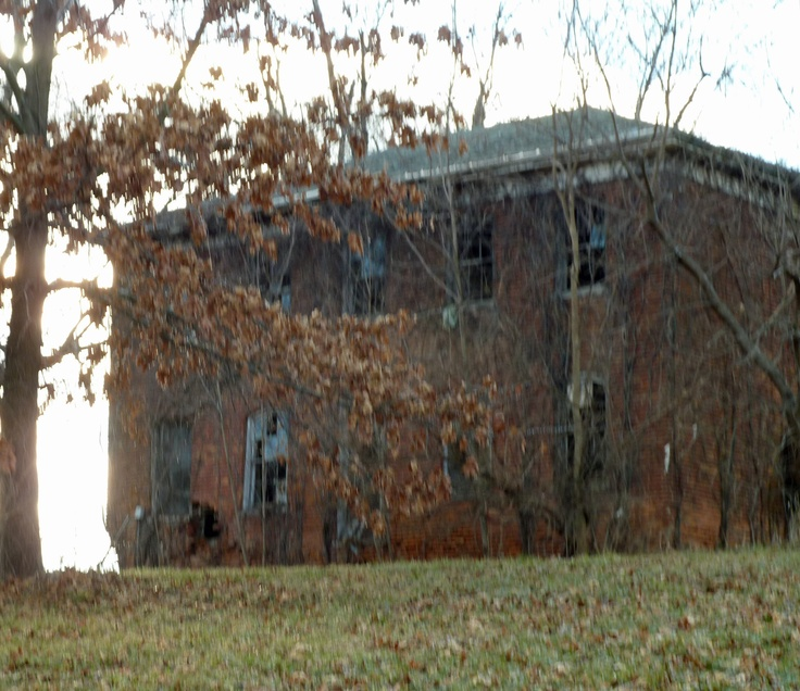Abandoned House Near Me. Always Intrigued Me -- So Afraid