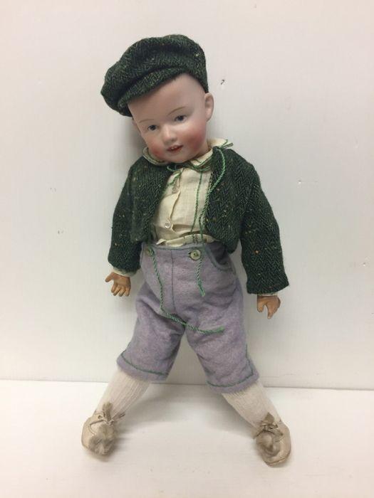 Giocattoli antichi - Bambole Antico bambolotto Gebrüder Heubach - Antico bambolotto character Immagine n°1