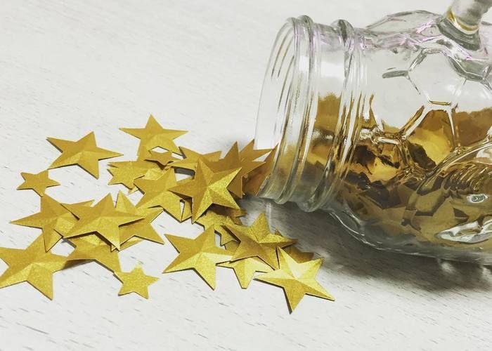 きらきらお星さまからの祝福♡可愛い≪スターシャワー≫の作り方2パターン*