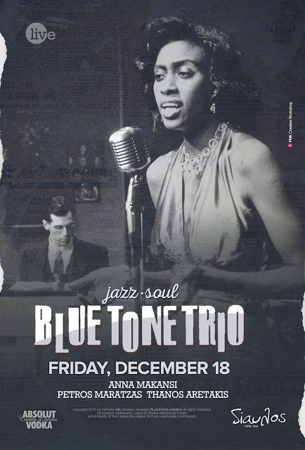 Blue Tone Trio (event poster)
