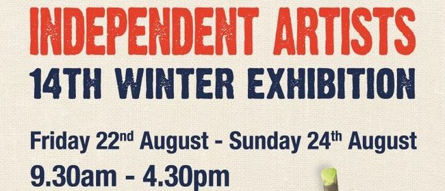 Independent Artists 14th Winter Exhibition I will have 2 works in this exhibition :)