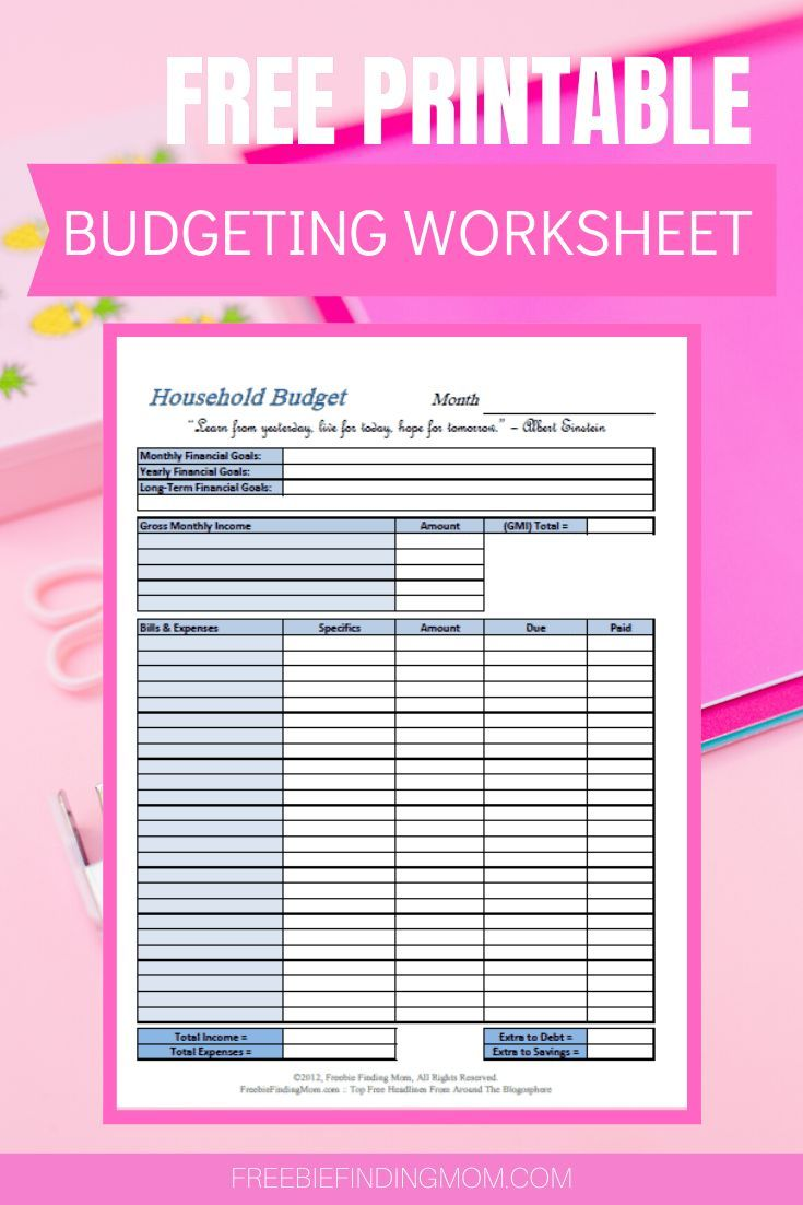 Free Printable Budget Worksheets Freebie Finding Mom Printable Budget Worksheet Budgeting Worksheets Budget Printables
